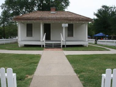 The J.O. Davis House was home to longtime Bear Creek teacher and mentor Josey O. Davis. The home, which is now part of the Jackie Townsell Bear Creek Heritage Center, will close to the public for repairs.