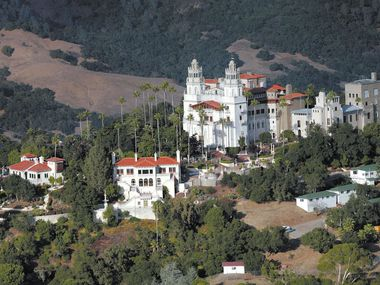 """La Cuesta Encantada,"" the legendary home now best known as Hearst Castle, built by publishing tycoon William Randolph Hearst in San Simeon, Calif., is in San Luis Obispo County."
