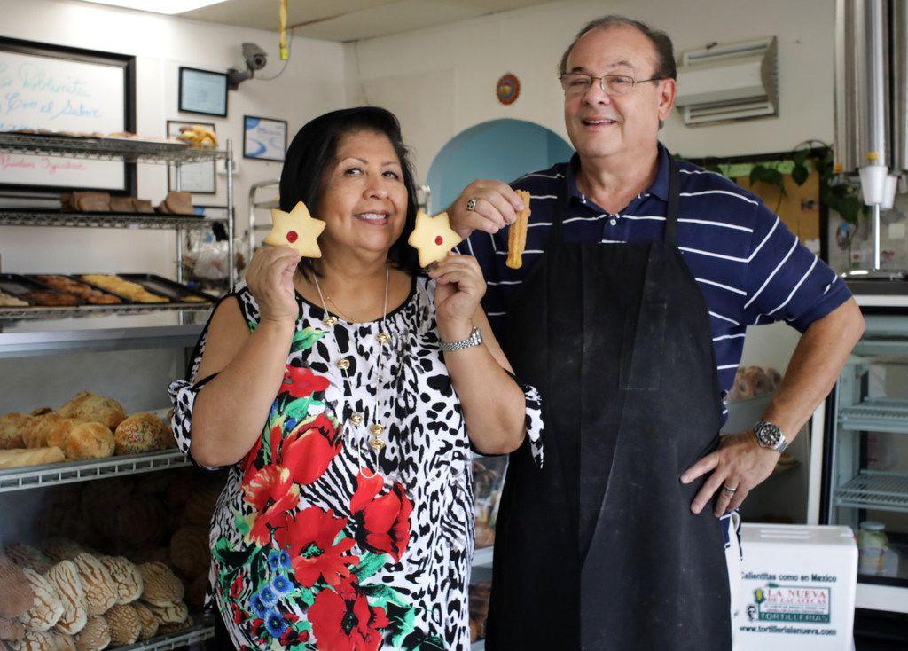 Caty and Danny Graves of La Poblanita Bakery in Dallas.