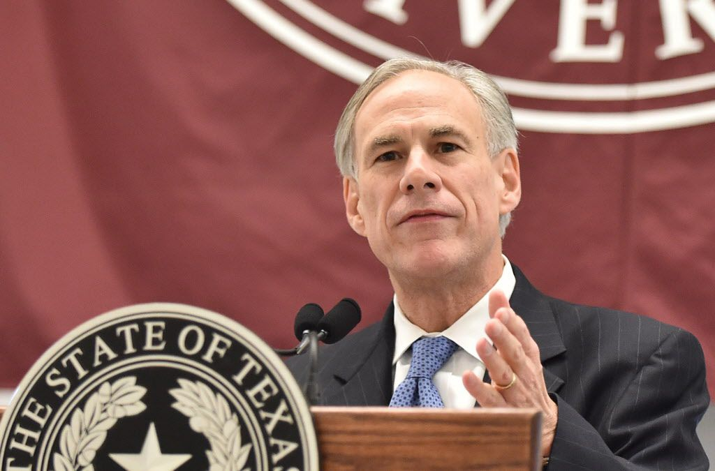 Governor Greg Abbott joined First Lady Cecilia Abbott to induct new members into TWU's Hall of Fame , Friday, October 21, 2016, in Denton, Texas. Tomas Gonzalez/DRC ORG XMIT: txder