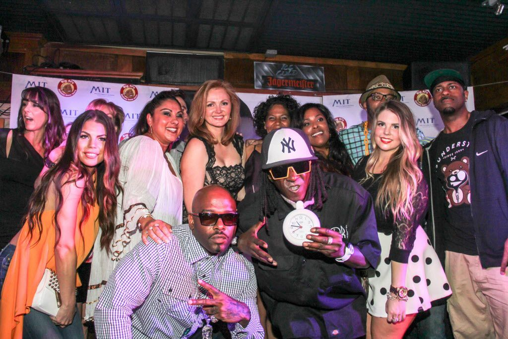 Naughty By Nature, Flava Flav, DJ Spinderella and friends came out to celebrate Dish Nation and KISS FM Kidd Kraddick morning show personality Kellie Rasberry's birthday bash at Big Al's McKinney Ave Tavern on April 16, 2015.