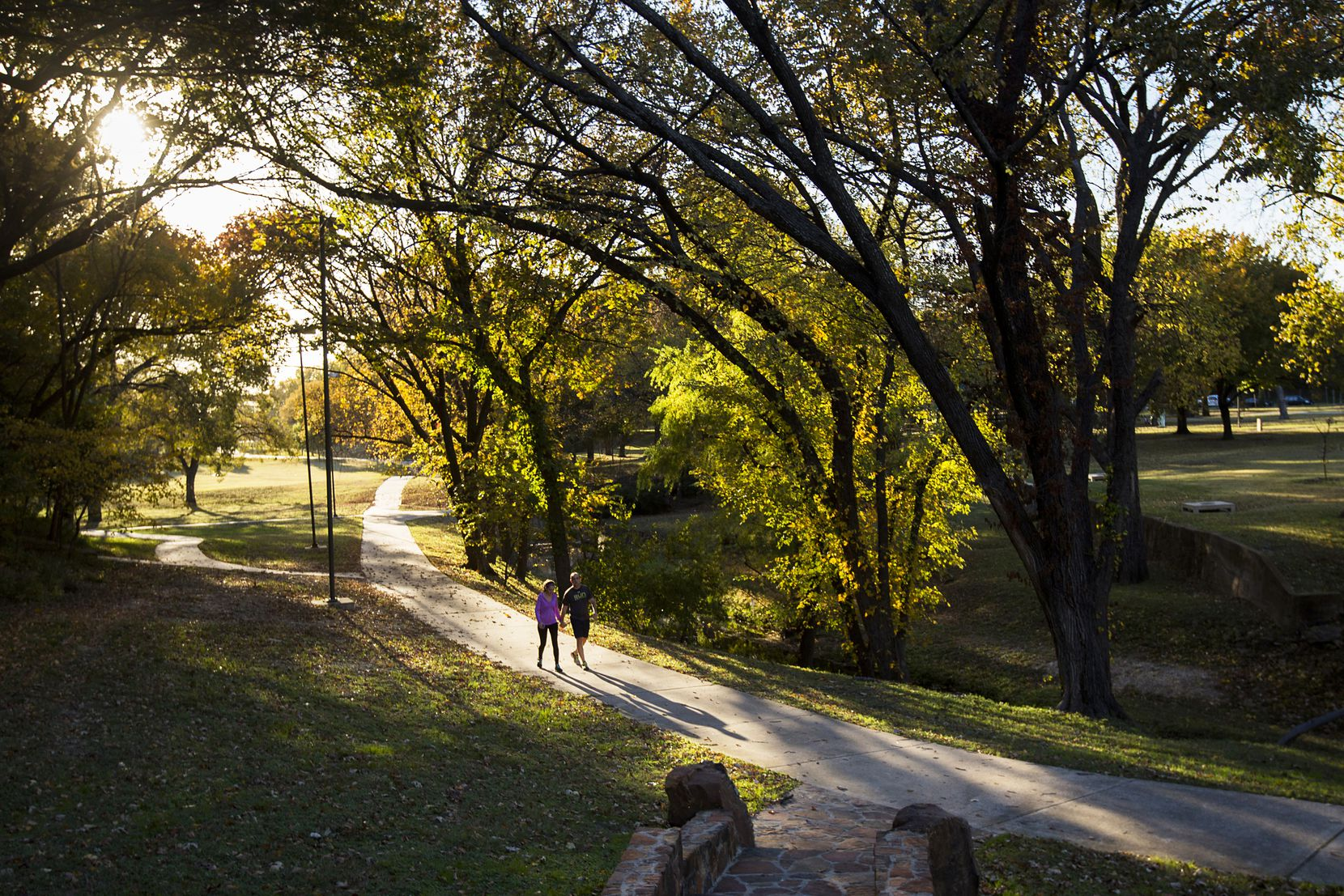 Once the ballpark plan was up for approval, many park users who love the peace and solitude found amid Reverchon's greenspaces and historic stonework expressed opposition.