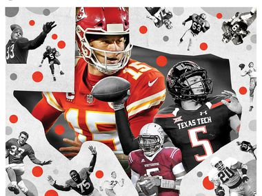 Even if the bar Tom Brady has set remains out of reach for a decade or so, Patrick Mahomes is closing fast on Texas' football immortals, an unthinkable notion when he came out of Whitehouse High School just seven years ago.