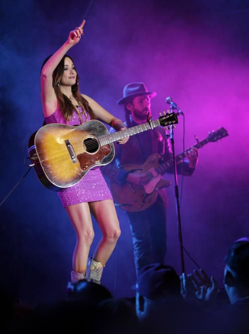 Kacey Musgraves performs at the Main Stage during the State Fair of Texas in Dallas, TX, on Oct. 18, 2013.