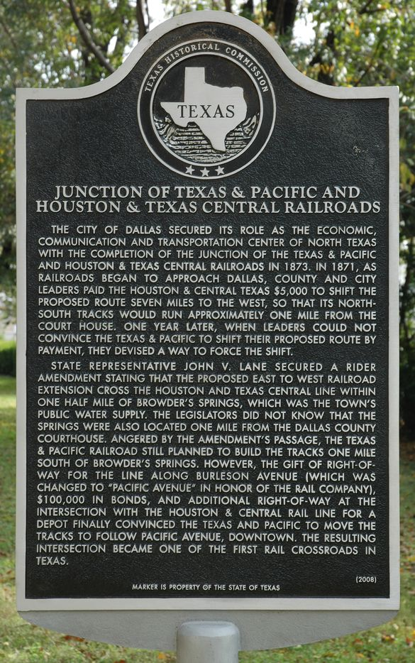 If you see this plaque, call the Texas Historic Commission. Or the cops.