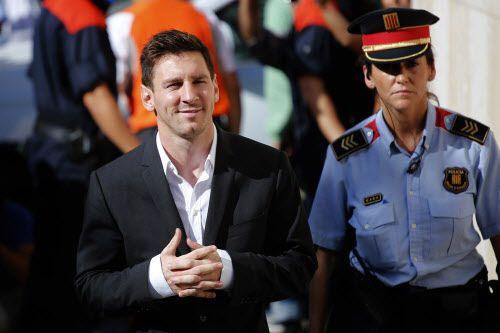 Lionel Messi ganó juicio a diario La Razón de España que dijo que se drogaba. Foto AP