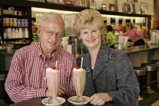 """J.L. """"Sonny """"Williams and Gretchen Minyard Williams owned the Highland Park Soda Fountain from 2006 until it closed in 2018."""