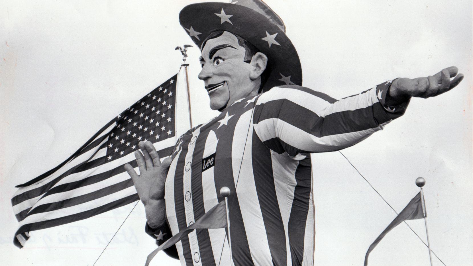 Big Tex  in 1975