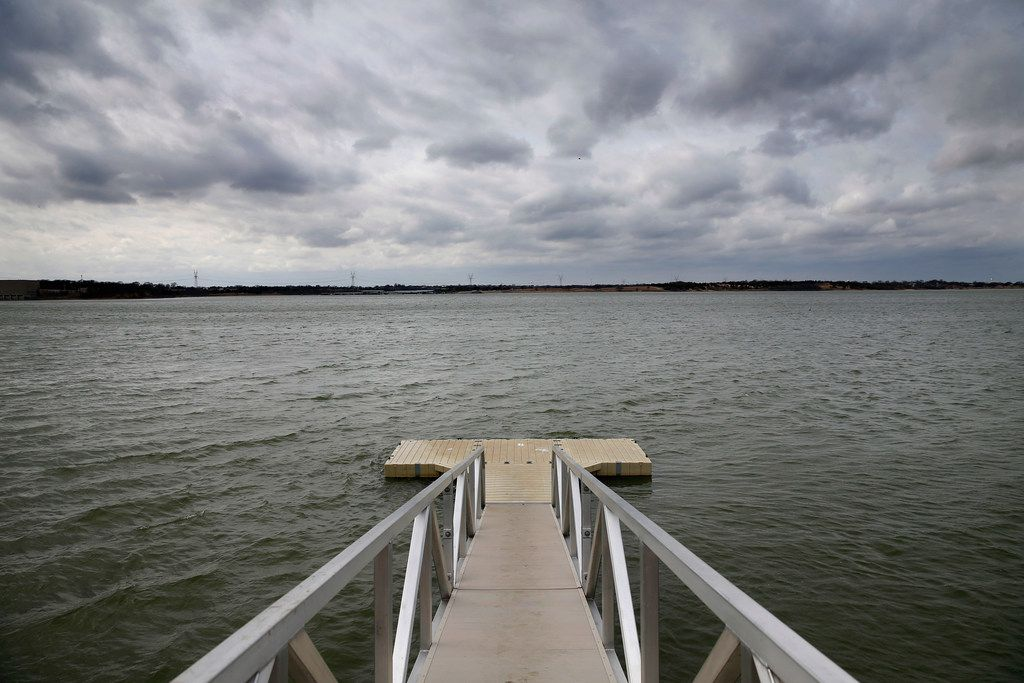 """Foul-smelling material from Lake Lavon, described to KDFW-TV (Channel 4) as """"floating poo"""" by fisherman Joshua Barry, is likely sediment from partially-treated water that overflowed from the wastewater treatment plant nearby during heavy rains in March, officials said."""
