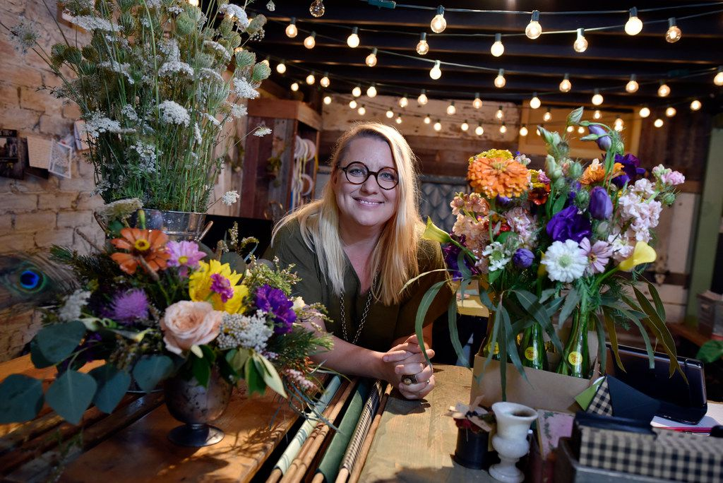 Sonya Eudaley is the co-owner of Dirt Flowers in the Bishop Arts District.