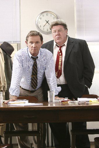 Richard Thomas (left) and George Wendt starred in national tour of 12 Angry Men at the Majestic Theatre in Dallas in 2007.