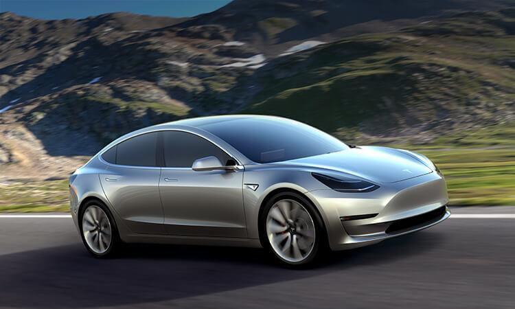 Tesla Model 3, vehículo totalmente eléctrico(CORTESIA TESLA)