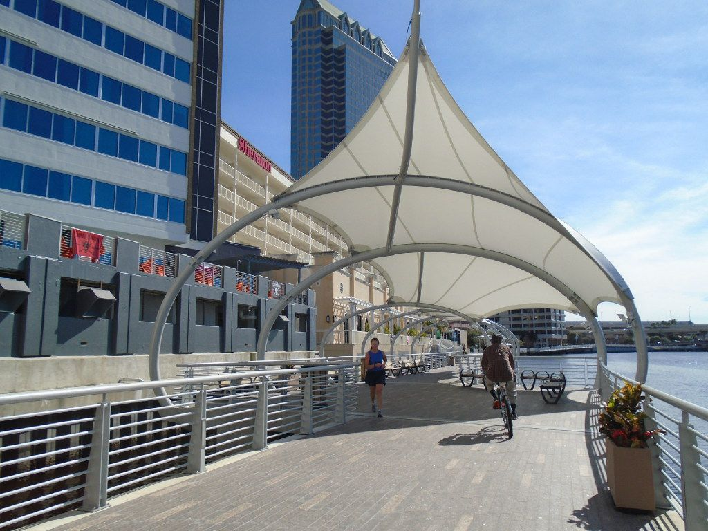 Le Meridien Tampa teamed up with New York-based Priority Bicycles for a custom fleet that can be used to glide down Tampa's beautiful new Riverwalk.