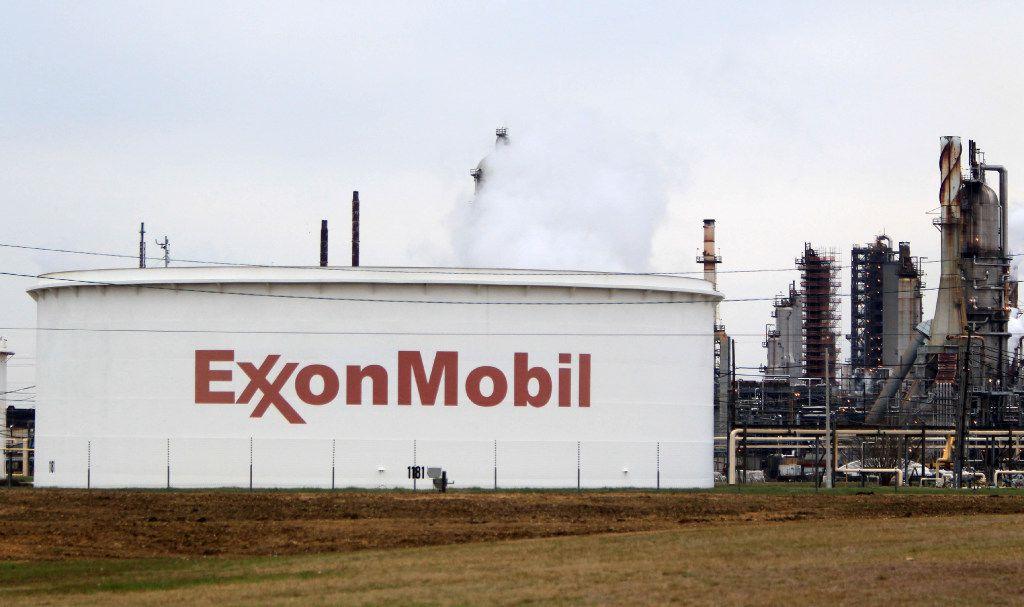 Exxon Mobil's Corp.'s Baytown complex.