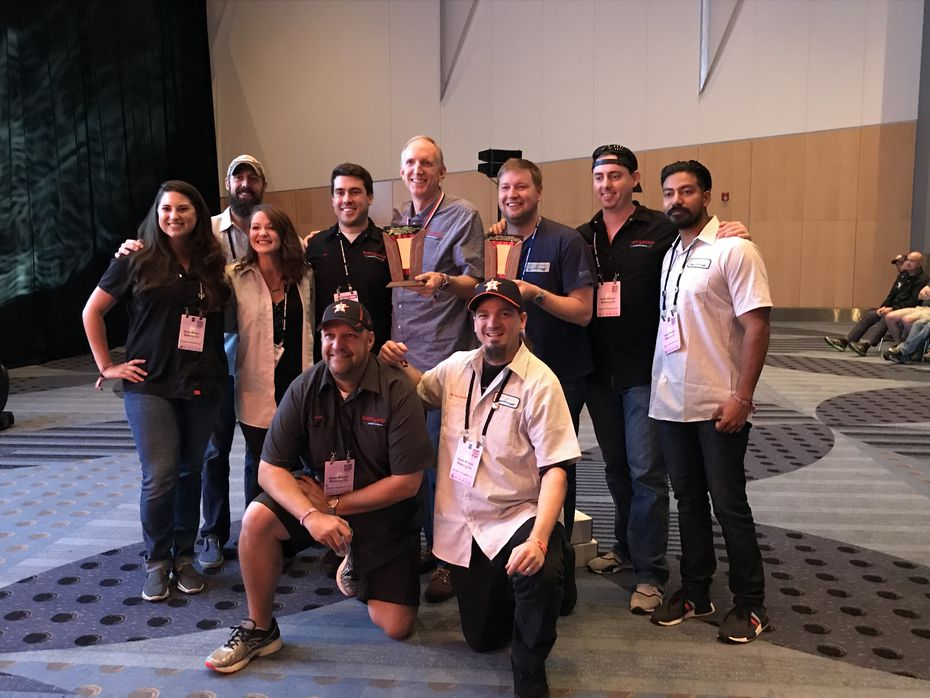 The team at Saint Arnold Brewing Co. was honored as mid-size brewery of the year at the Great American Beer Festival 2017. The brewery won an additional three medals.