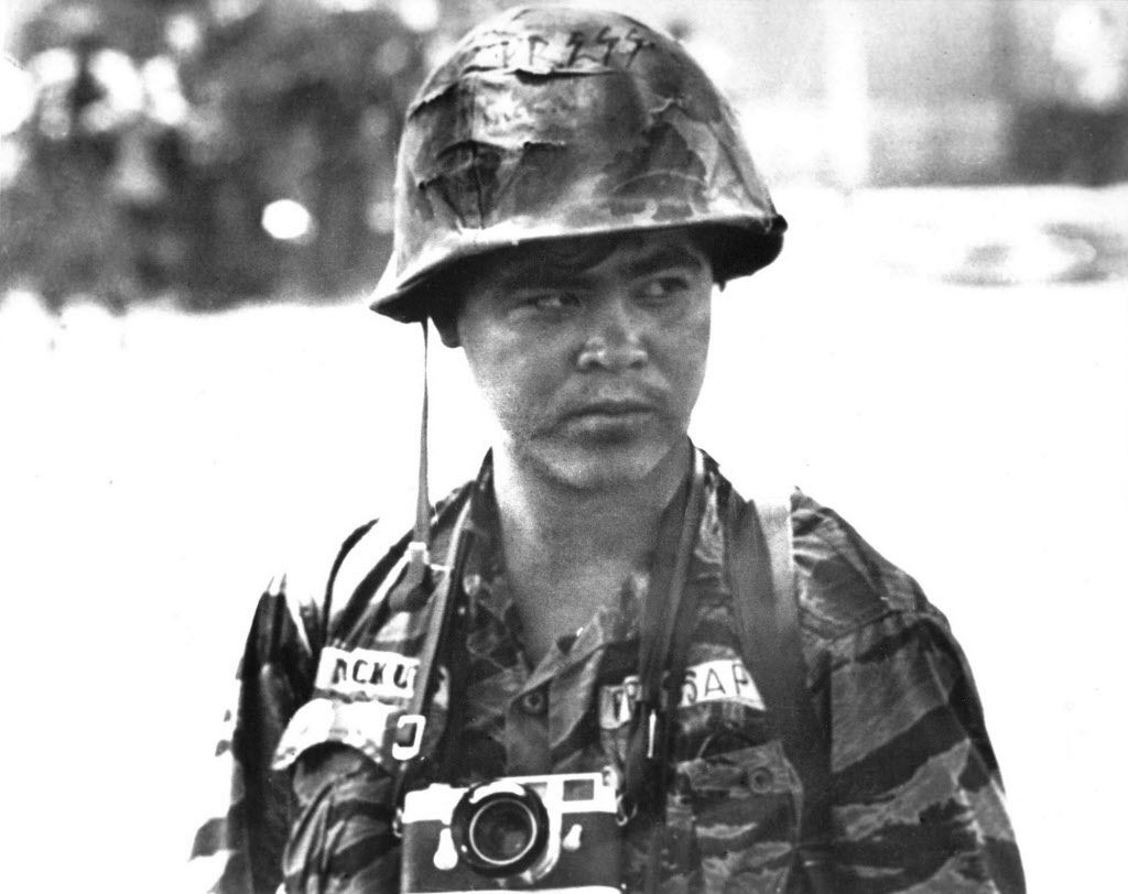 This undated file photo shows Associated Press photographer Nick Ut in Vietnam. Ut will be retiring from the AP in March 2017 after 51 years of taking photographs from the front lines of the Vietnam War to the red carpets of Hollywood.