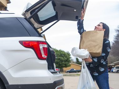 A Frisco Facebook group is inviting at-risk, or even scared, individuals to post their needs, and a member can volunteer to deliver their items to them.
