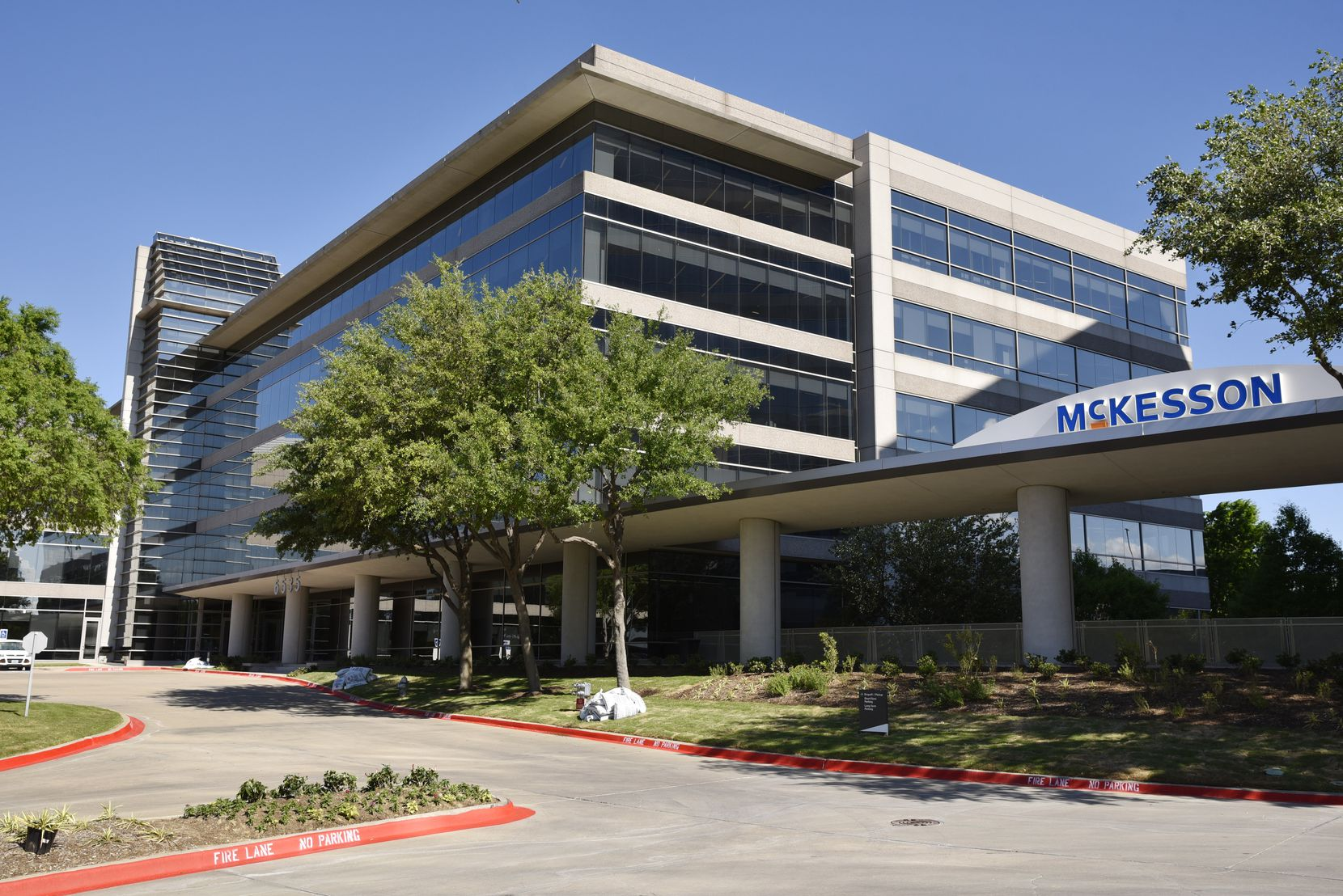 McKesson's corporate headquarters in Irving. The medical and pharmaceutical supplier moved to North Texas in April 2019.