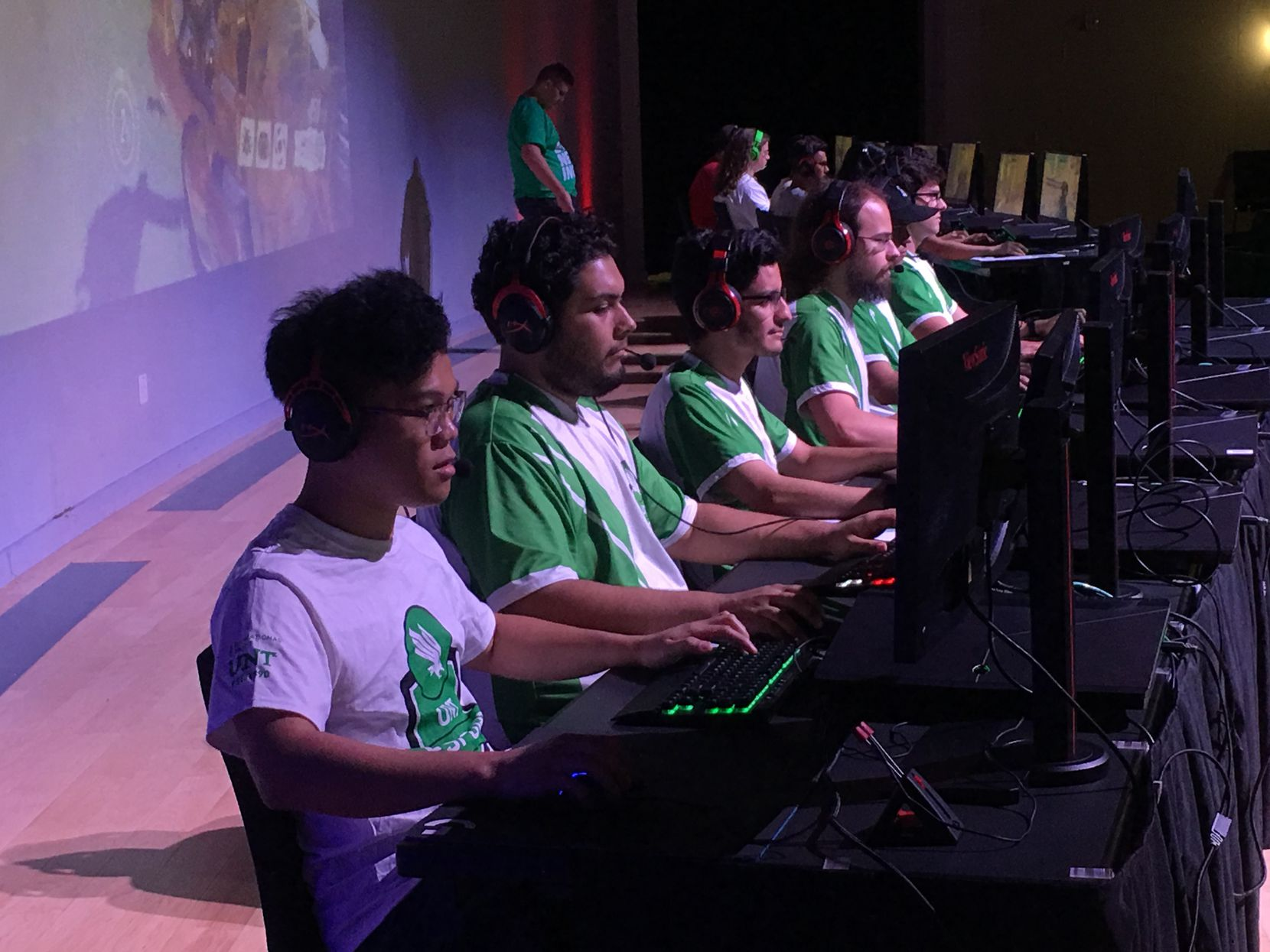 The UNT Overwatch team has practiced and competed remotely during the fall semester.