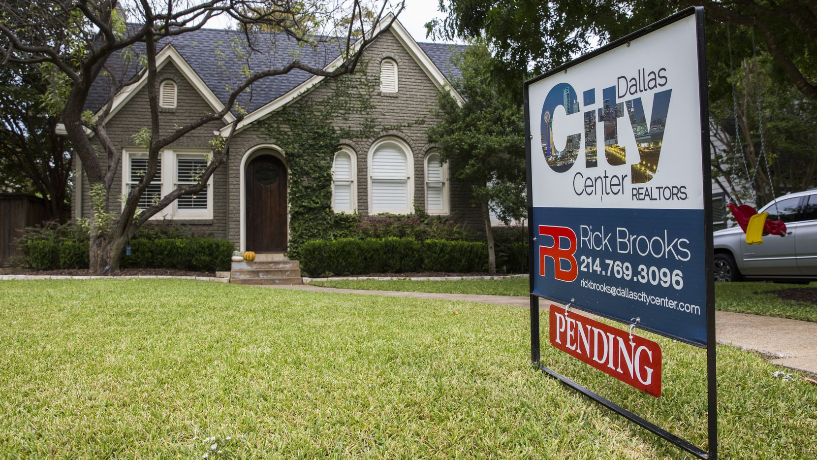 North Texas home prices were 8 percent higher in March than a year earlier.
