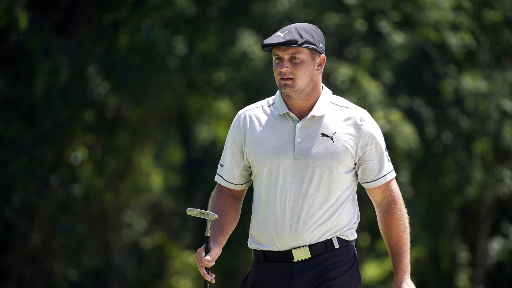 PGA Tour golfer Bryson DeChambeau finished  the third round tied for 9th with a 10-under in the Charles Schwab Challenge at the Colonial Country Club in Fort Worth, Saturday, June 13, 2020.