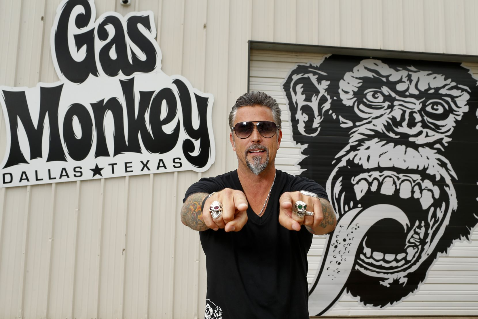 Richard Rawlings of Gas Monkey Garage is the star of cable TV show 'Fast 'n Loud.'