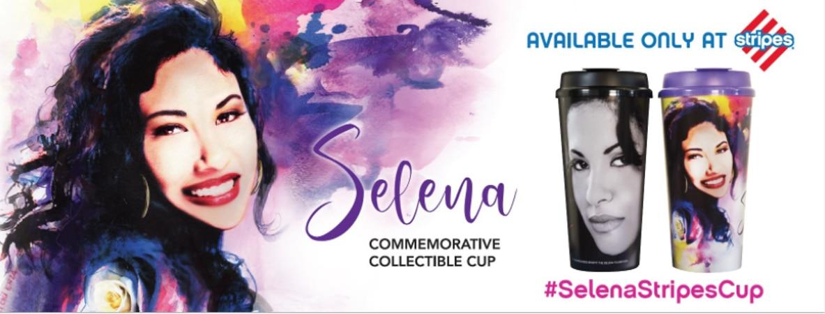 Ahora también se pueden conseguir vasos de colección de Selena Quintanilla.