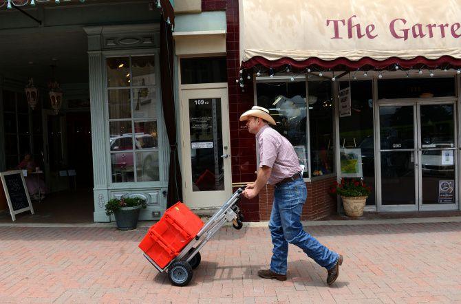 Matt Hamilton is delivering a clothing store to McKinney's historic square. (Courtesy photo)