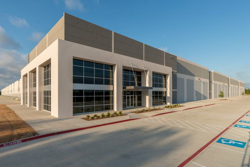 Trammell Crow Co. in January sold the first building in its Cedardale business park.