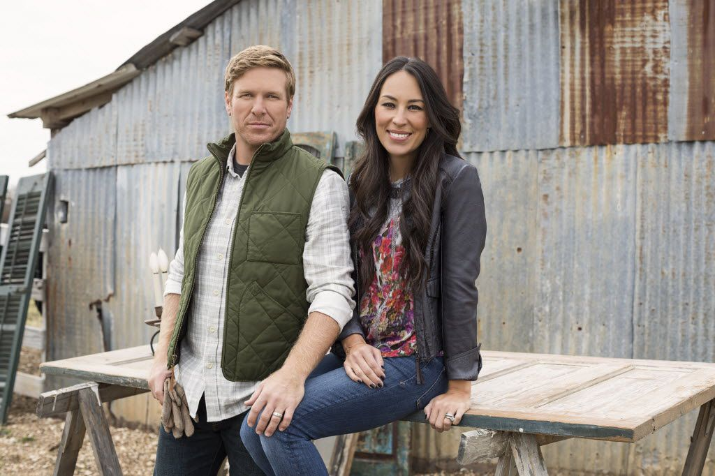 Chip and Joanna Gaines of HGTV's Fixer Upper.