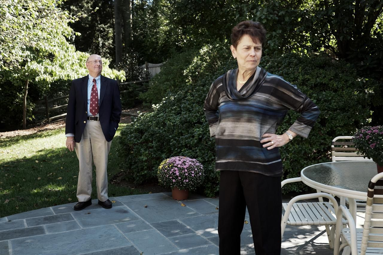 """Paring down your possessions is done """"step by step by step,"""" said Kaye Appleman, a retired clinical social worker who is moving with her husband, Edward Mopsik, from their home of almost 33 years in Bethesda, Md., to a nearby condominium."""