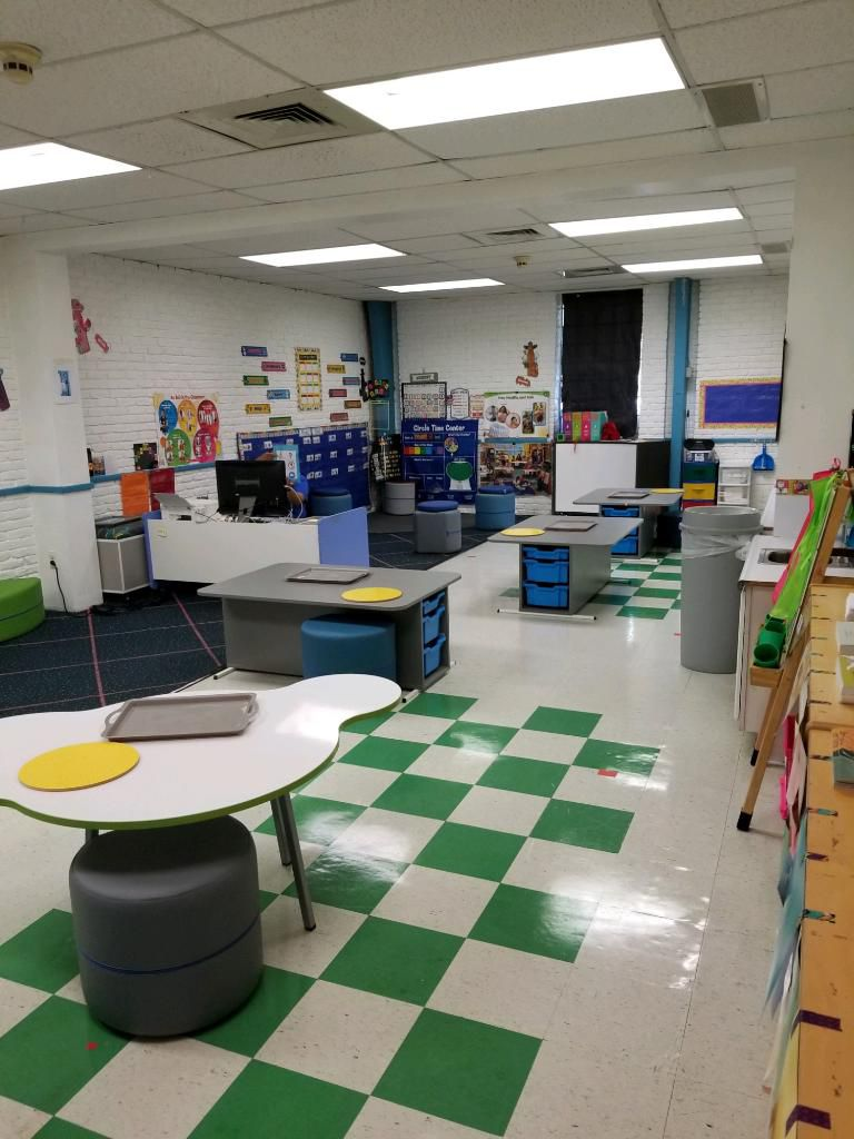 """""""We can't wait to greet the children in October,"""" Mi Escuelita Preschool President and CEO Gayle Nave says. The school has reconfigured classrooms so that each student whose family elects in-person classes will have his or her own workstation. Before the pandemic, students sat six to a table."""
