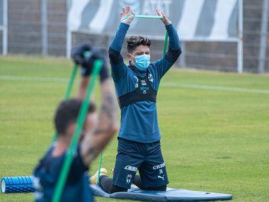 Varios jugadores de Rayados de Monterrey no pudieron escapar al contagio de covid-19.