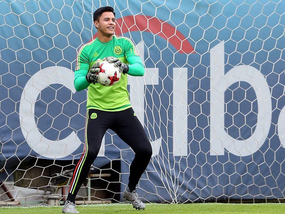 Alfredo Talavera quiere ser el arquero de México en la Copa del Mundo de Rusia 2018. Foto Agencia Reforma