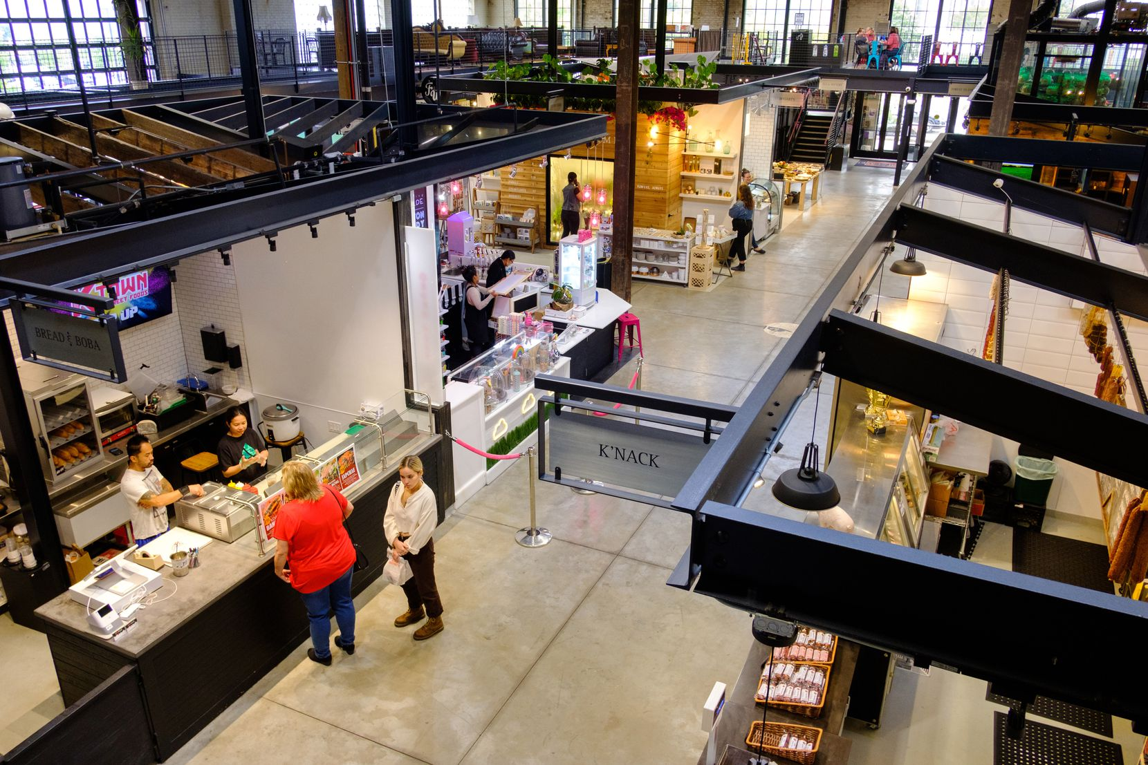 Keg and Case West 7th Market is a food and retail hall that opened last year in St. Paul.