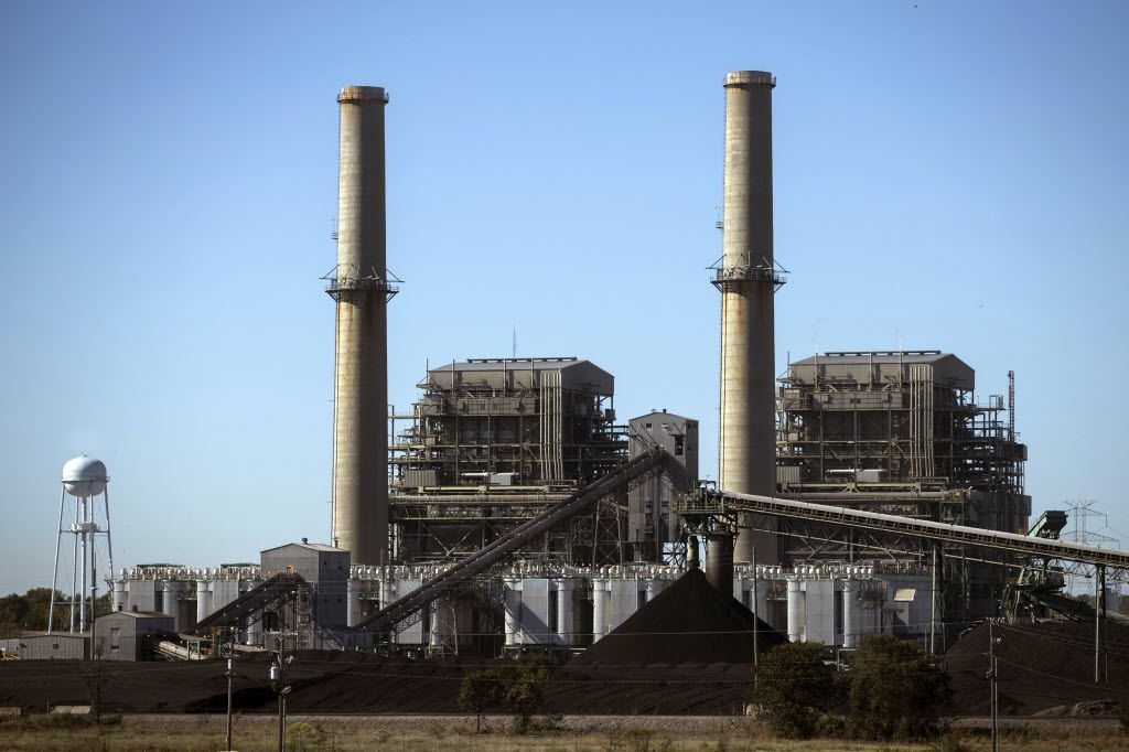 The Big Brown coal plant in Fairfield is one of the Texas facilities potentially affected by an EPA crackdown on haze.