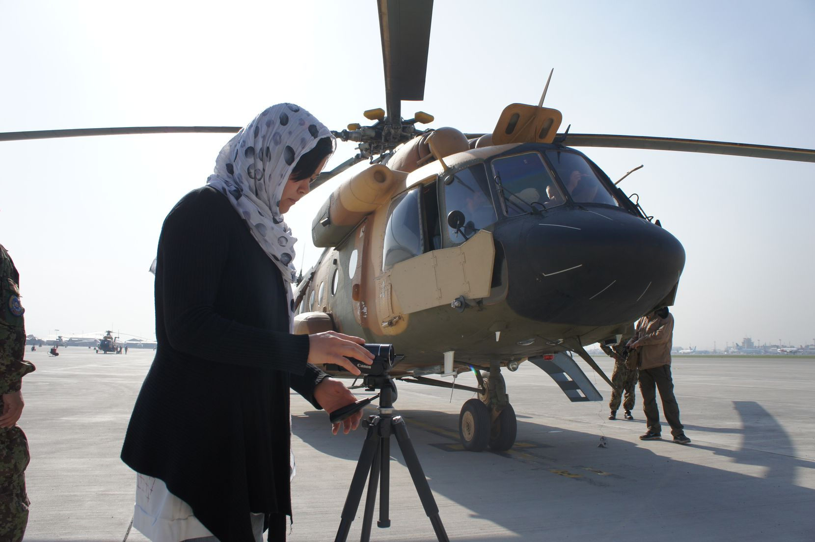 Kubra Jafari owns KJ Productions, which produced documentaries about progress being made in Afghanistan.