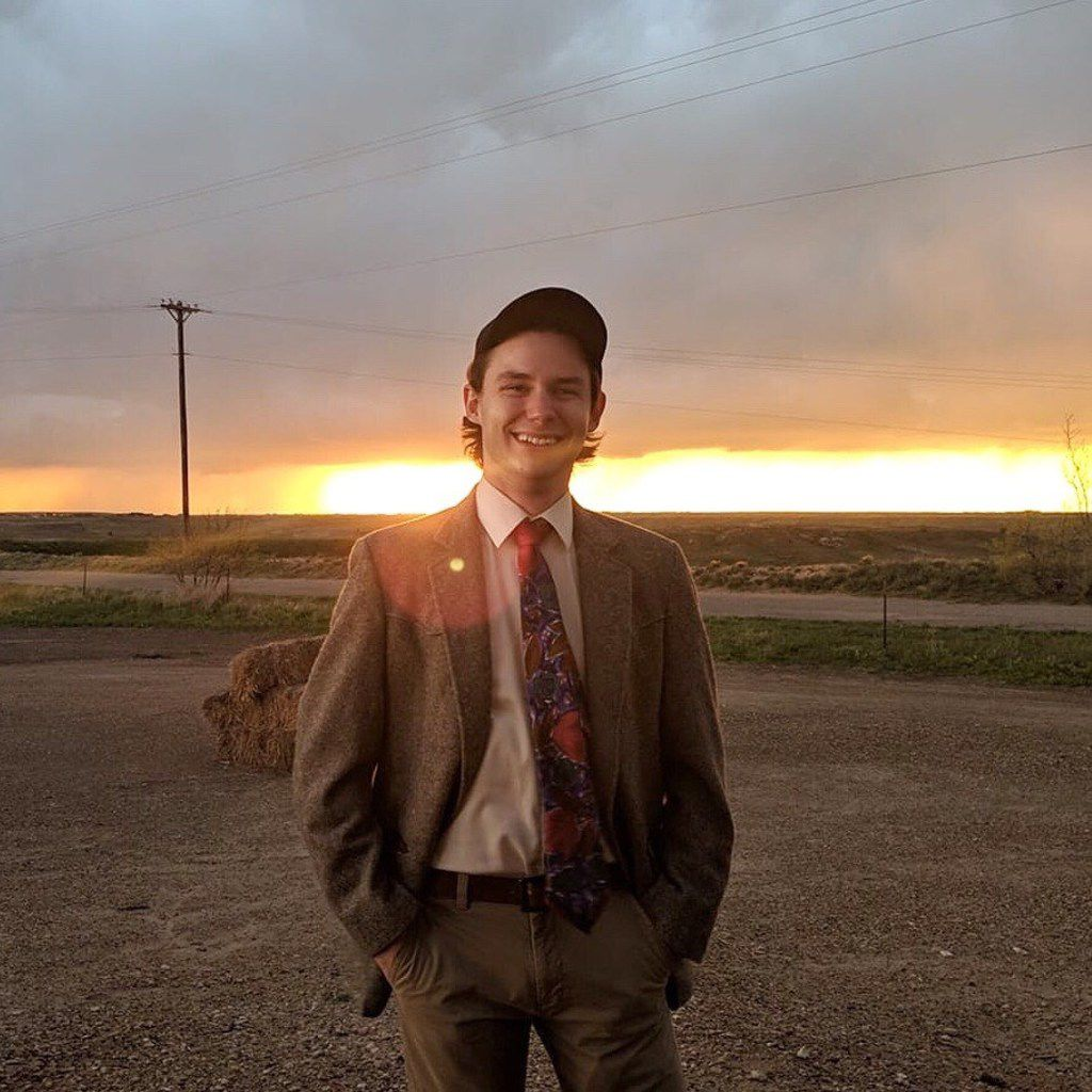 Hayden Pedigo wore this outfit in the series of absurd campaign videos he produced during his run for Amarillo City Council.