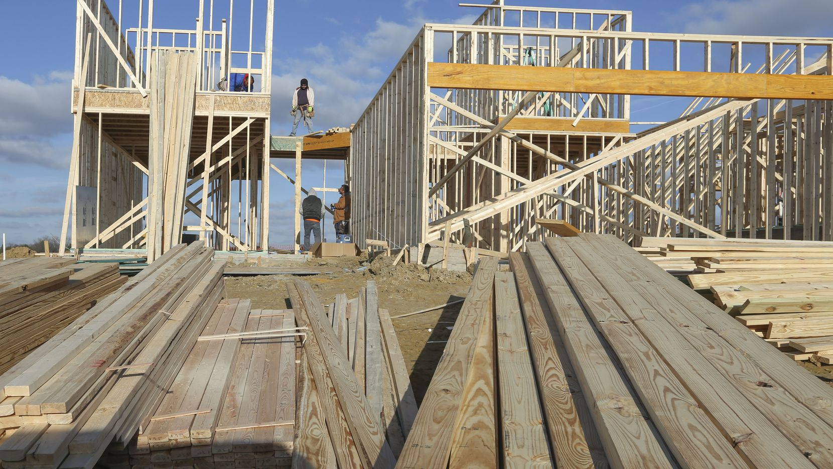 Tariffs on lumber imported from Canada have contributed to soaring U.S. homebuilding costs.