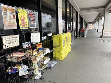Business at DFW China Town shopping center in Richardson is noticeably down since the start of the coronavirus outbreak.