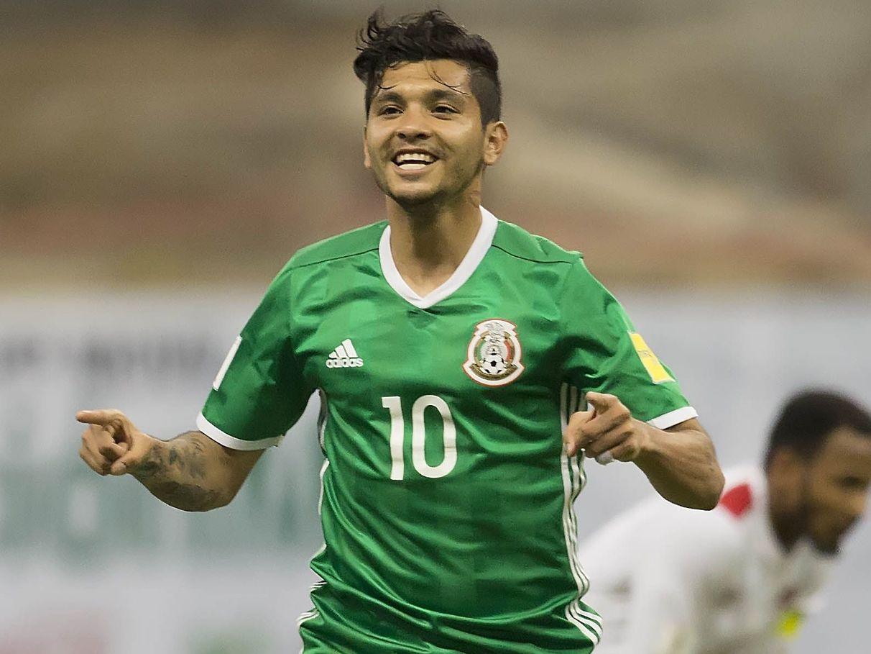 """El """"Tecatito""""Corona se ha convertido en pieza fundamental de la selección mexicana."""