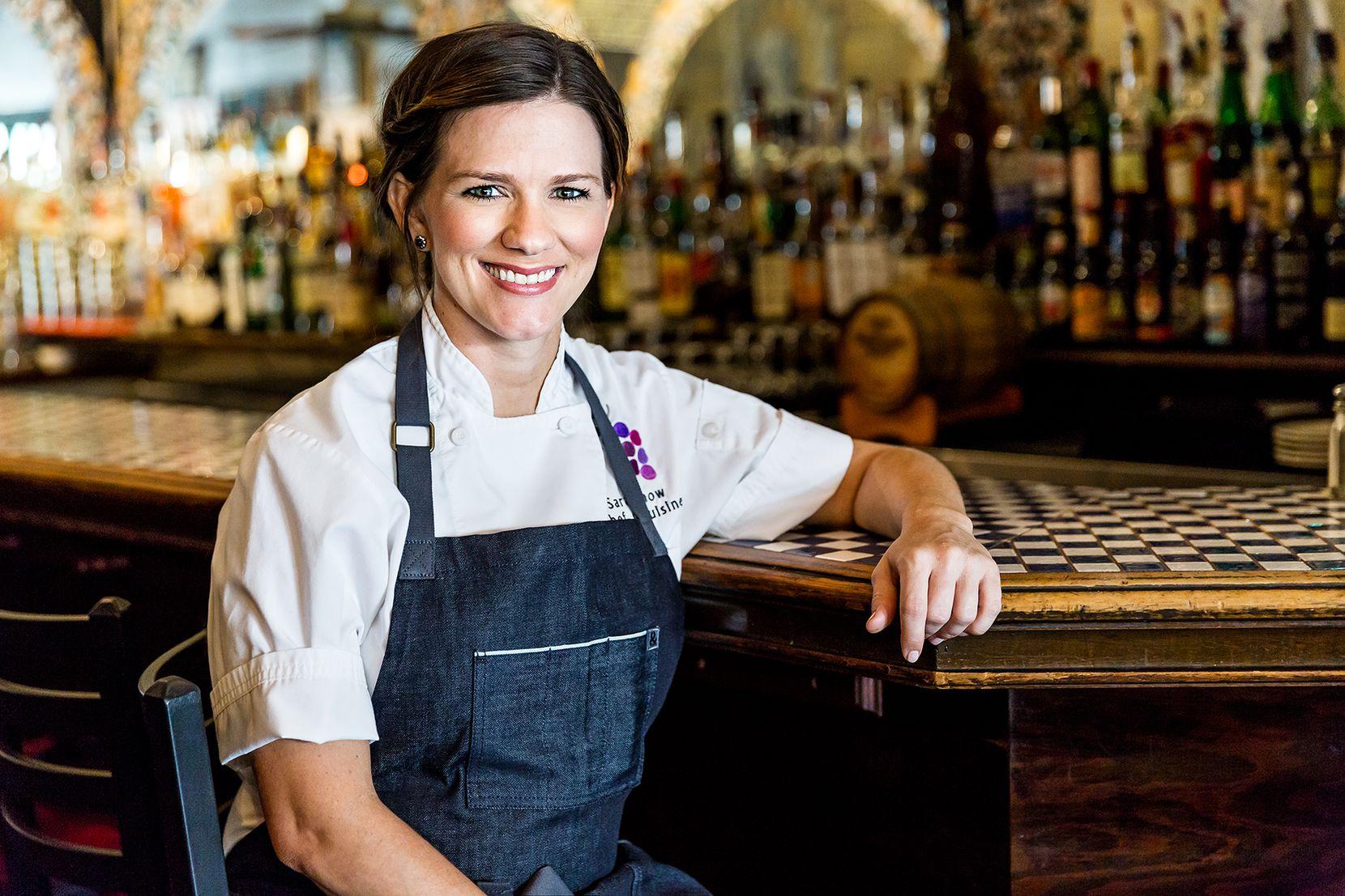 Sarah Chastain, 29, chef de cuisine at The Grape