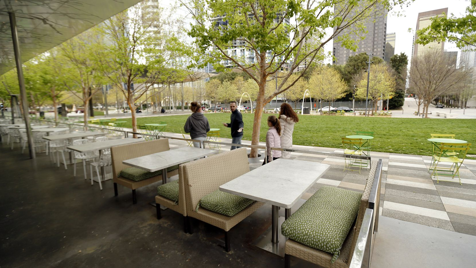 Klyde Warren Park sits in the boundaries of District 14, a wishbone-shaped district that includes sections of downtown, Oak Lawn and neighborhoods on Dallas' historic East Side.