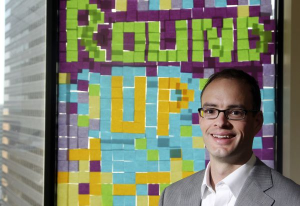 Chris Gay, CEO of Zengine, organized the RoundUp for StartUps when he had trouble finding good IT employees.