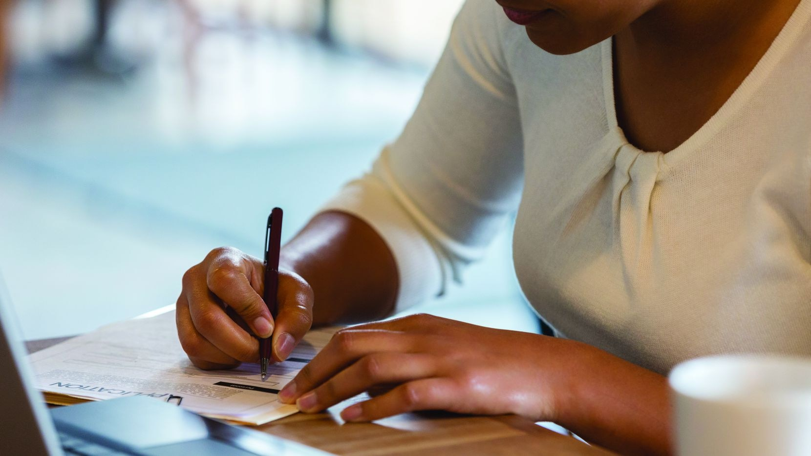 The College Board recommends beginning the college application process during the summer before your senior year of high school.