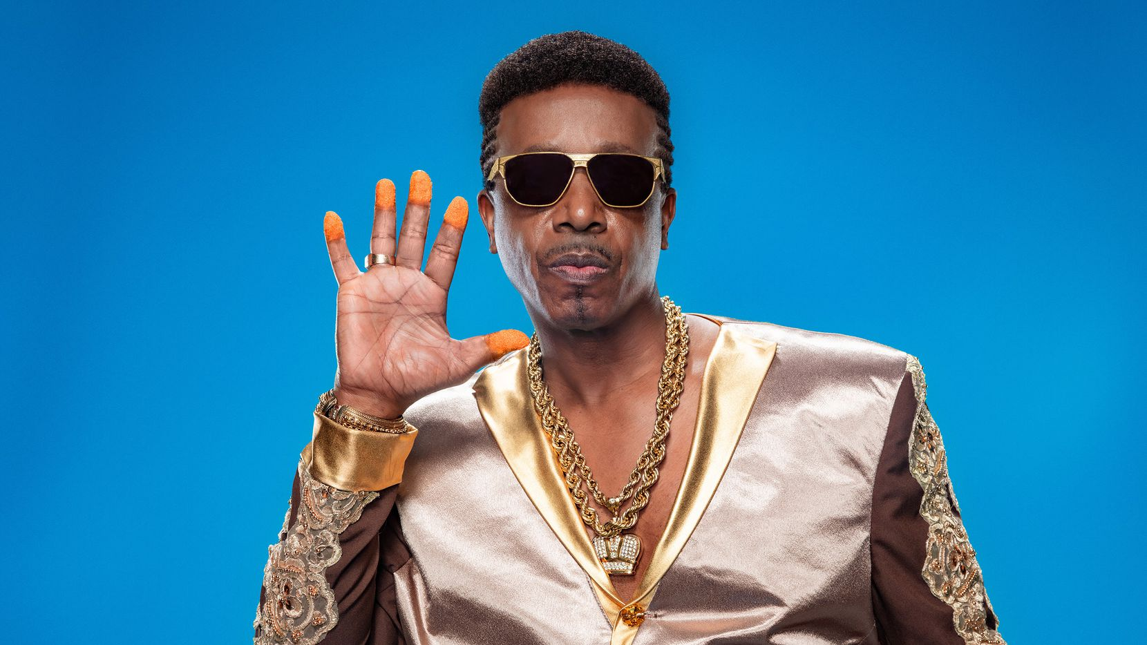 """Cheetos is back with a 2020 Super Bowl ad for the first time in more than a decade and its bringing back rap icon MC Hammer and his famous """"U Can't Touch This"""" song."""