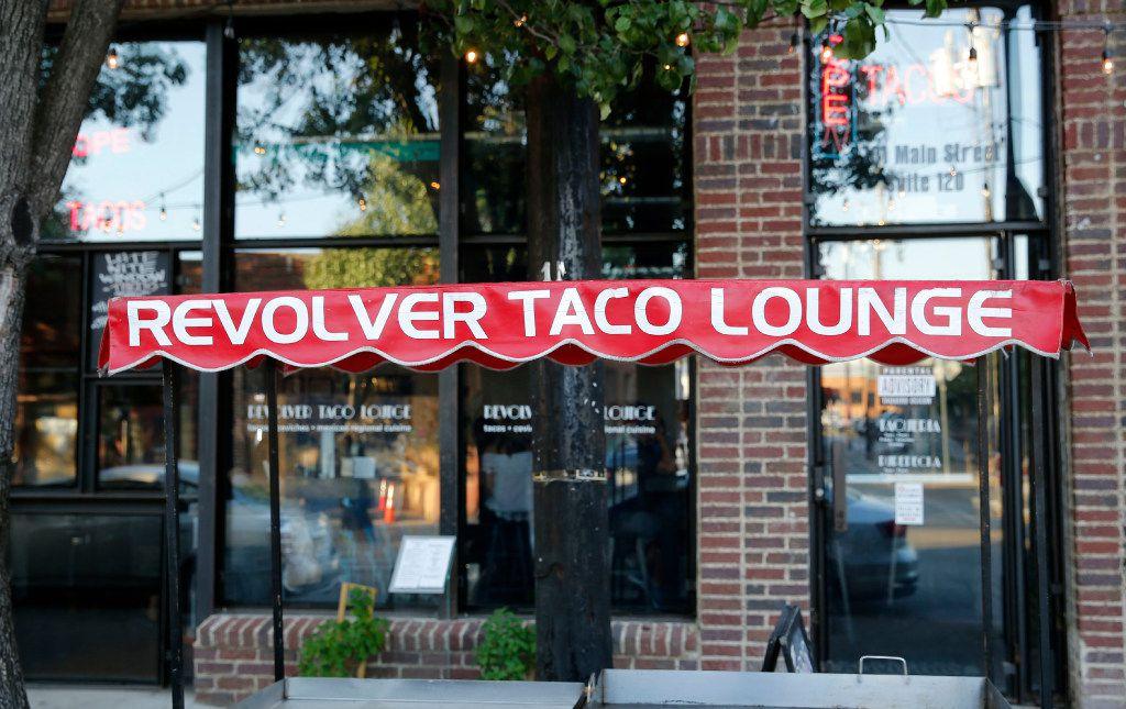 Revolver Taco Lounge's Deep Ellum facade  (Vernon Bryant/The Dallas Morning News)