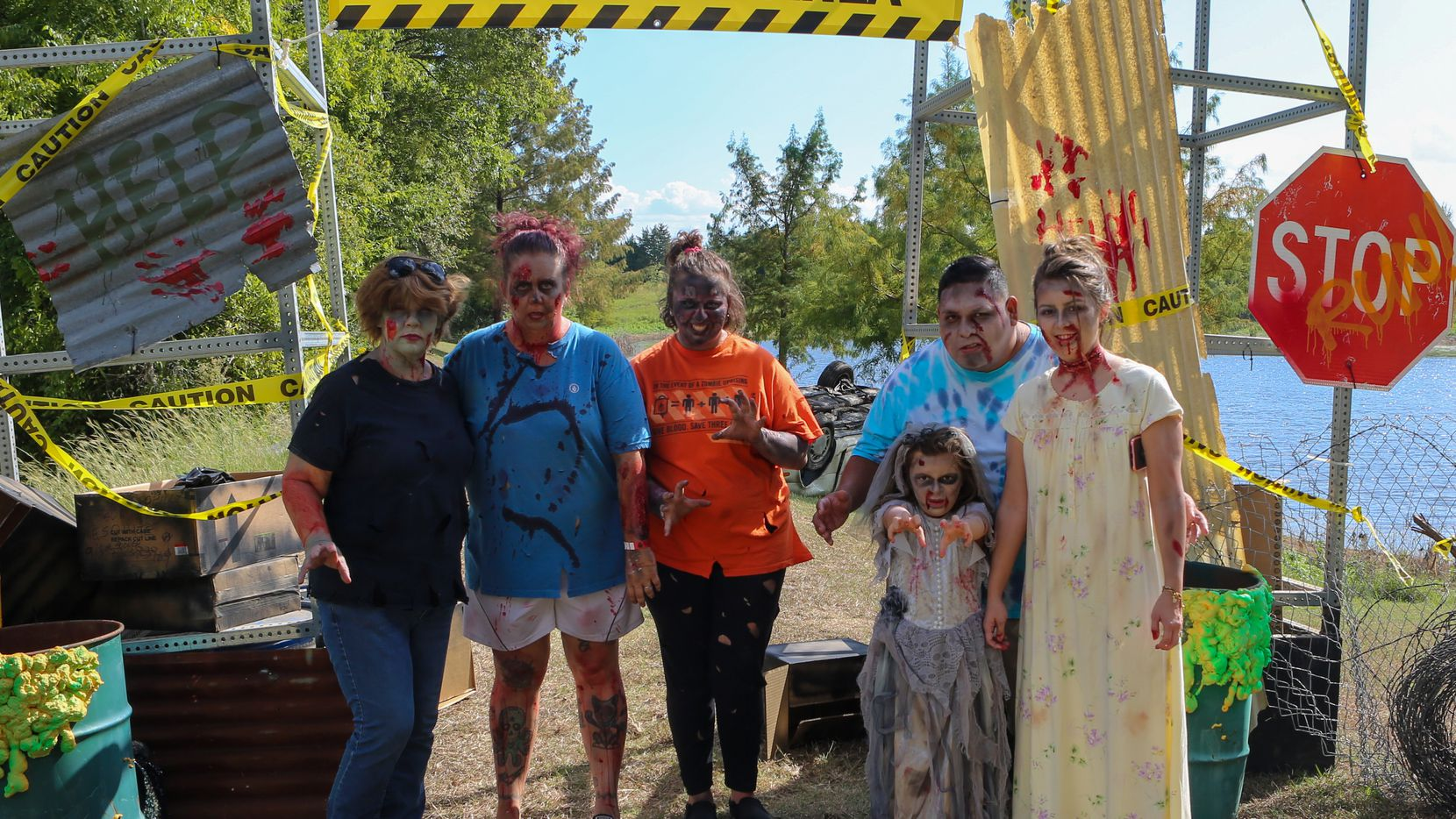 The family-friendly Guys & Gory Zombie Run in Mesquite in 2019 provided safe scares for attendees looking for a unique event to enjoy the outdoors.