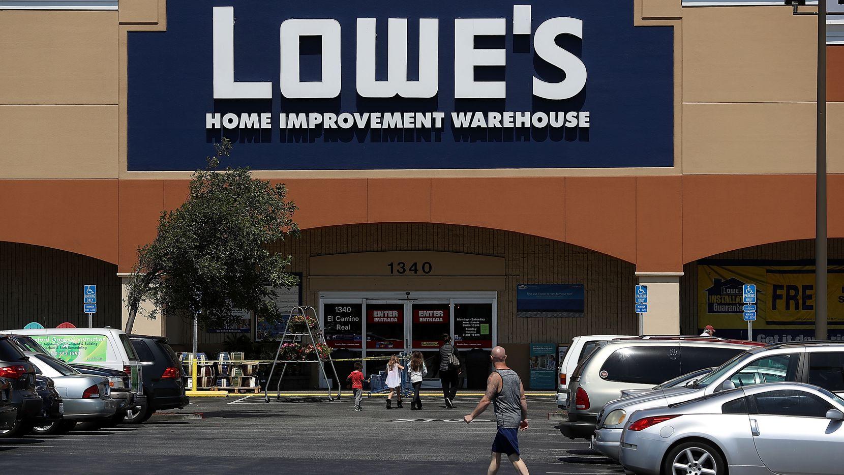 Lowe's has dozens of stores in North Texas and an existing shipping center in Ennis south of Dallas.