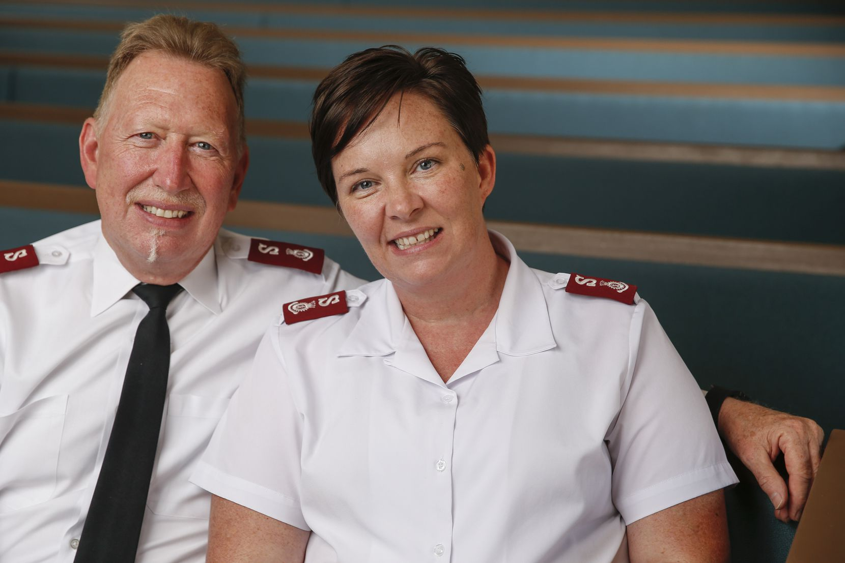 Salvation Army Majs. Todd and Bethany Hawks moved from North Carolina to serve as area commanders.